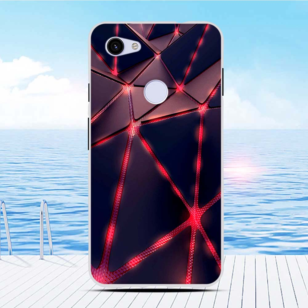 For Google Pixel 3A XL Silicone Case TPU Cover 6.0