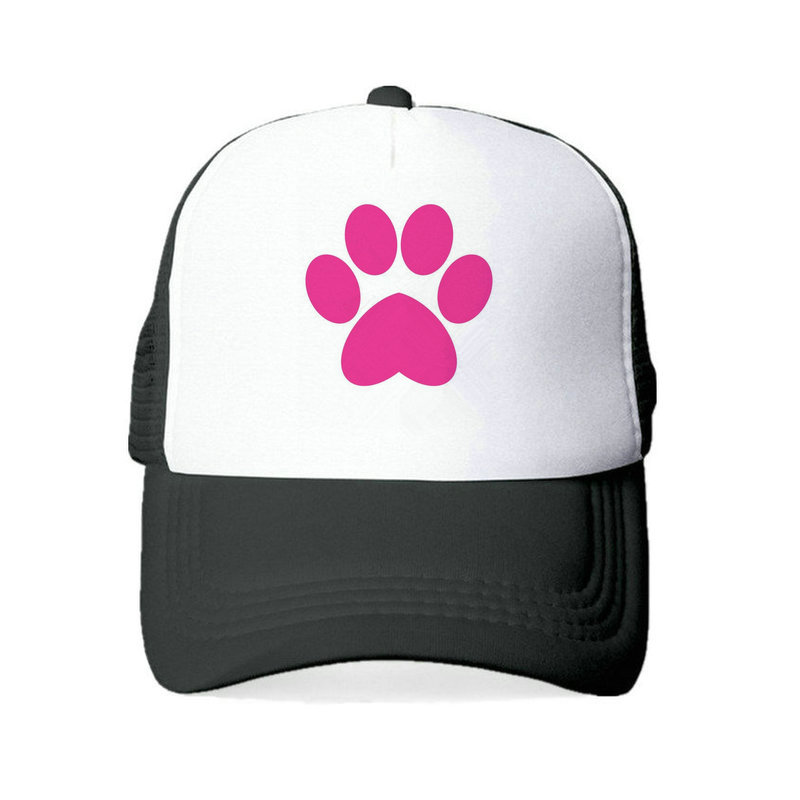 Mesh Cap Hat for Men Women Unisex Print Dog Mom
