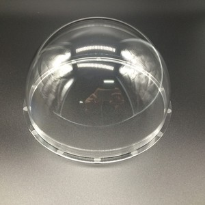 Image 3 - 167x88mm Trasparente 4 Inch Coperta Esterna del CCTV di Ricambio Acrilico Trasparente Cupola Della Protezione Custodia Telecamere di Sicurezza Accessori