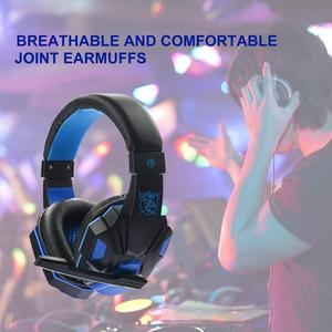 Image 5 - SY830MV Gaming Headphones For Nintendo Switch PSP PS3 PS4 Pro Xbox One Pro With Microphone Professional Stereo Gaming Headset
