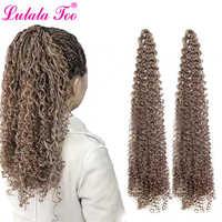 30 inch Zizi Vlechten Gehaakte Doos Vlechten Twist Synthetische Vlechten Hair Extensions 28 wortels/Pack Roze Schrijven Paars Bug grijs 613