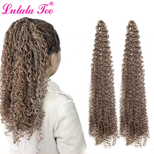 30inch Zizi Braids Crochet Box Twist Synthetic Braiding Hair Extensions 28 roots/Pack Pink Write Purple Bug Gray 613