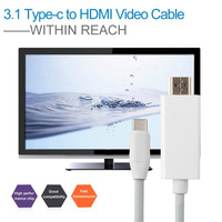 USB 3 1 Type C To HDMI 4K HD Male To Male Multiport Adapter Video Cable