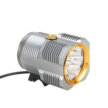 17000Lm 9R8 LED Bicycle Light Bike Lamp Headlamp+Laser Taillight Flashlight Torch Cycling