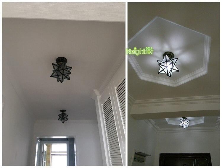 Moderne Lampen 81 : Moderne gefÜhrt sterne deckenleuchte flur gang flur lampe