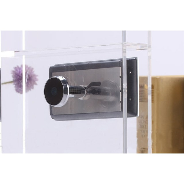 "US 3.5"" Digital Peephole Door Viewer Camera Night Vision 120 Wide Angle Infrared Doorbell"