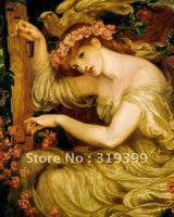Il Paintng Reproduction A Sea Spell By Dante Gabriel Rossetti Free Shipping Via DHL Or FeDex