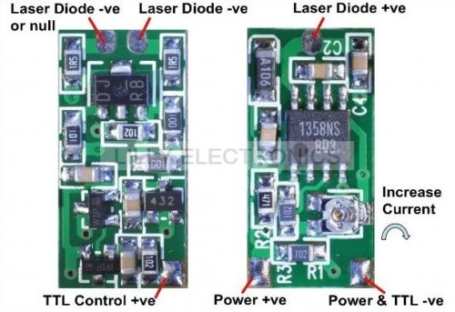 Power Supplier Driver Board For 808nm 980nm Laser Diode Module пижама с шортами из джерси 10 16 лет