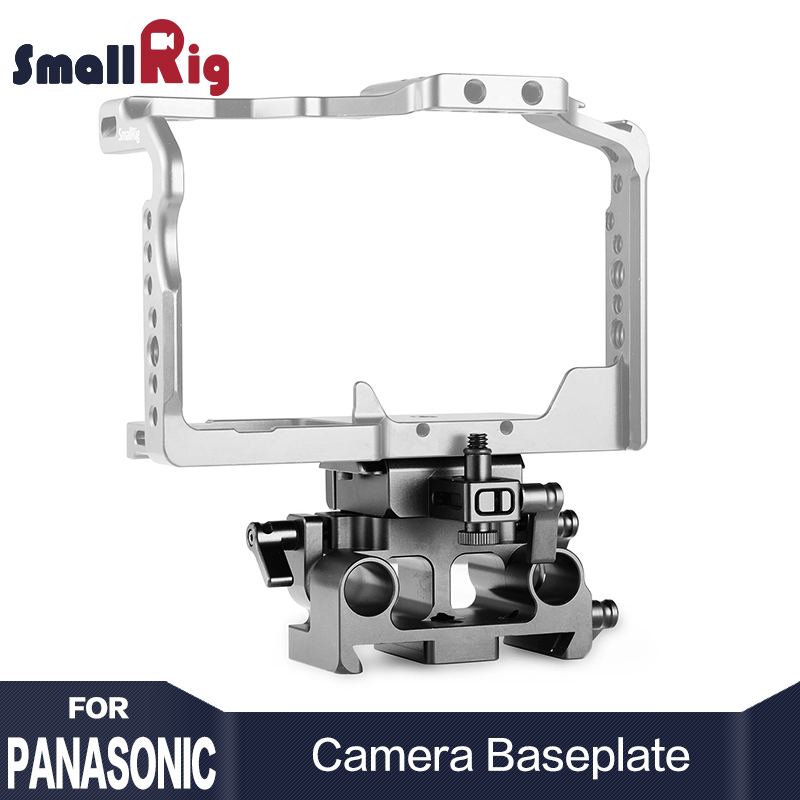 SmallRig Quick Release Baseplate Kit for Panasonic Lumix GH5 GH5S SamllRig Cage 2049 With Arri dovetail