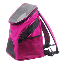 Best Promotion Portable Pet Dog Cat Puppy Travel Double Shoulder Backpacks Sport Travel Outdoor Pet Carrier Bag