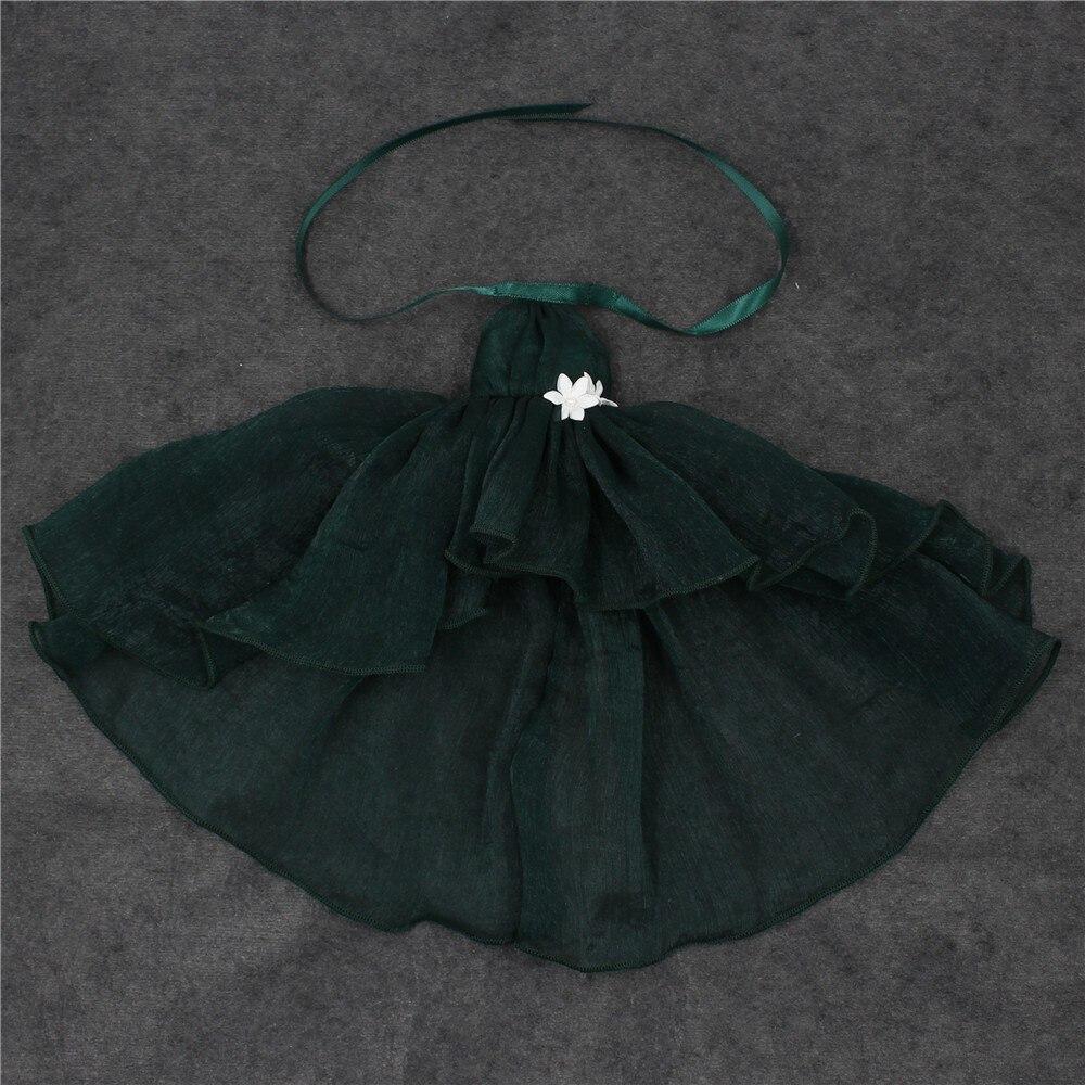 Neo Blythe Doll Chiffon Dress with Flower 23