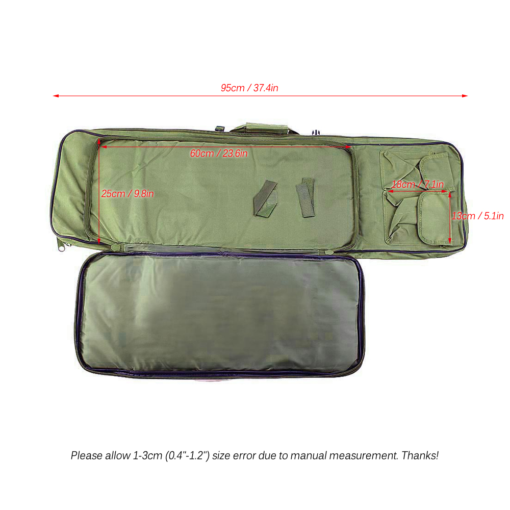 1PCS 95cm Hunting Backpack Outdoor Military Hunting Tactical Bag Gun Accessories Square Carry Bag Gun Protection Case Backpack