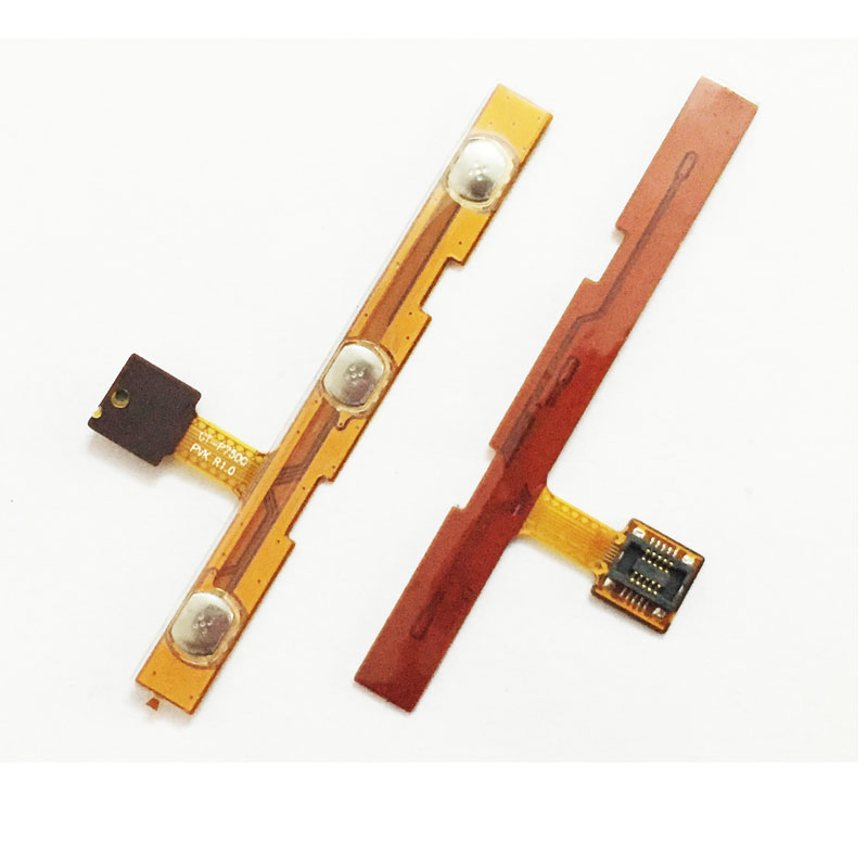 New Power On Off Volume Up Down Button Flex Cable For <font><b>Samsung</b></font> Galaxy Tab 10.1 <font><b>GT</b></font>-P7500 <font><b>GT</b></font>-<font><b>P7510</b></font> P7500 <font><b>P7510</b></font> image