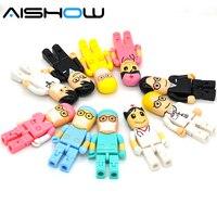 Lápiz de memoria Flash USB 2,0 modelo de enfermera, unidad Flash de 4GB, 8GB, 16GB, 32GB y 64GB para dentista, Envío Gratis