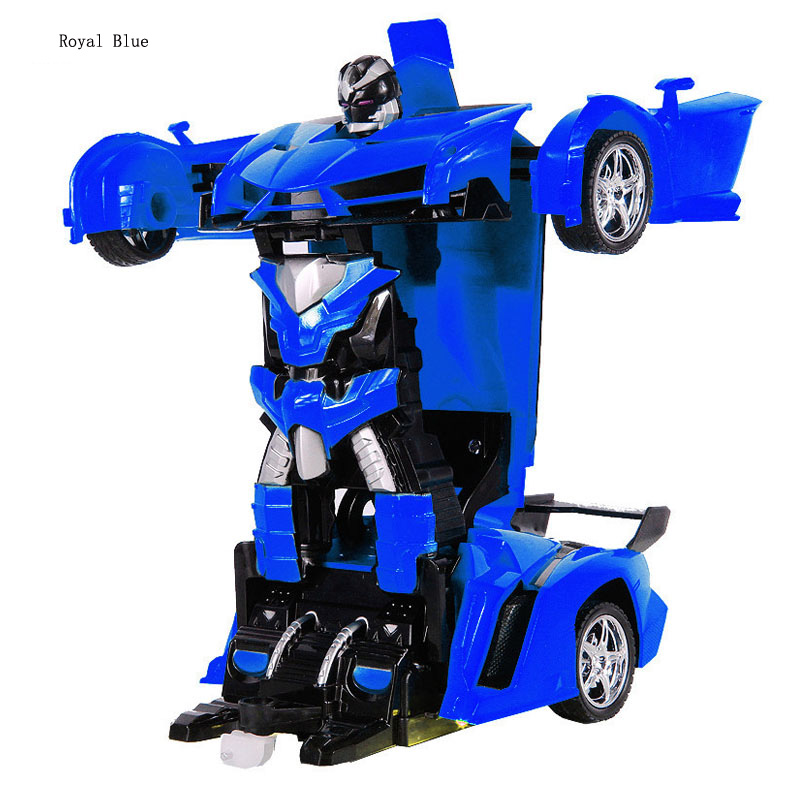 Blue Yellow and Red Tatuo 3 Pieces Robot Car Toy 2 in 1 Deformation Car for Kids Boys Playing Christmas Birthday Gifts