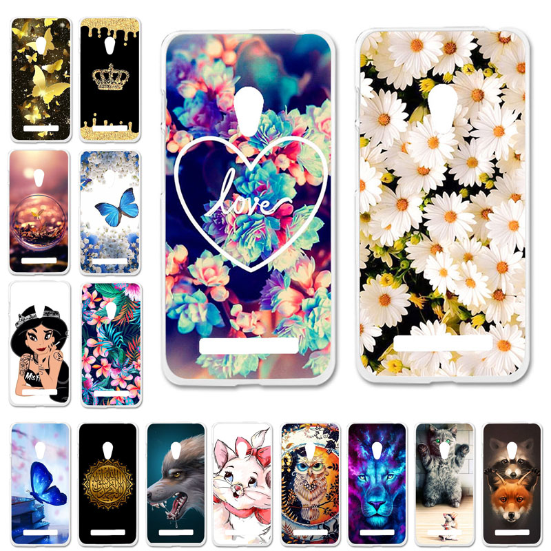 Soft Case For <font><b>Asus</b></font> <font><b>Zenfone</b></font> <font><b>5</b></font> <font><b>ASUS</b></font>_T00J <font><b>5</b></font>.0 Inch Cases TPU Silicone Cute Cat Bumper <font><b>A501CG</b></font> <font><b>A500CG</b></font> A500KL ZenFone5 Cover Coque image