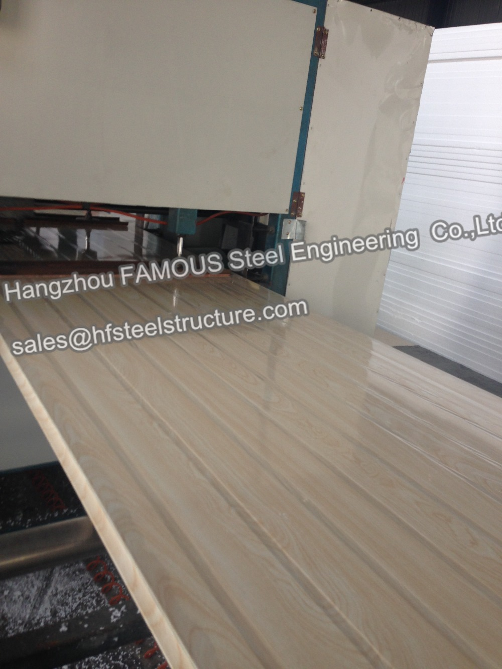 EPS Polystyrene Insulated Sandwich Panels For Metal Buildings Roofing System