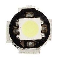 smd 5050 2x Bulb 5 LED 5050 SMD BA9S H6W T4W White Anti ODB Error code lamp (3)