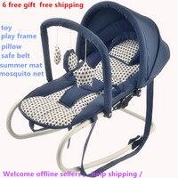 6 geschenk in1 Baby schaukel stuhl wiege baby beruhigende stuhl schaukel stuhl schaukel stuhl schlaf artefakt-in Türsteher  Springer & Schaukeln aus Mutter und Kind bei