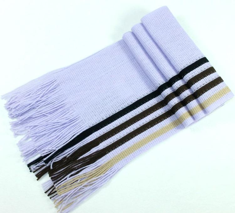 Fashion designer Men Classic Cashmere Scarf 180 23CM Winter Warm Soft Fringe Striped Tassel Shawl Wrap striped scarf men scarves in Men 39 s Scarves from Apparel Accessories