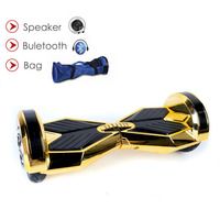 8 Inch 2 Wheel Hoverboards 4400amh Battery Scooter Kick Gyroscooter Stand Up Skateboard Hover Boards Bluetooth Speaker Overboard