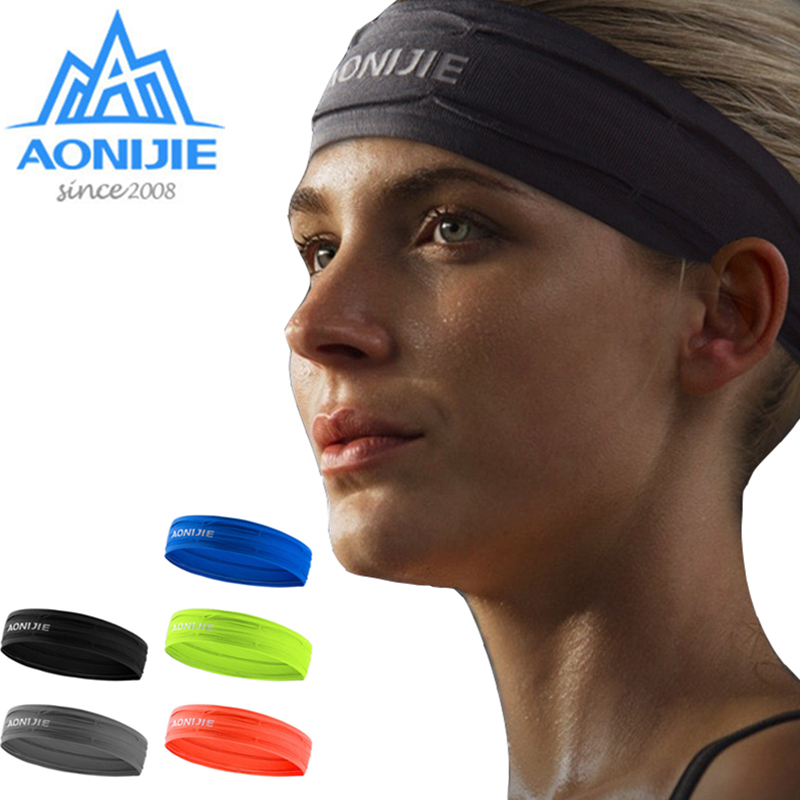 Systematic Aonijie Elastics Sweatband Anti Slip Hairband Anti Sweat For Running Fitness Yoga Demand Exceeding Supply