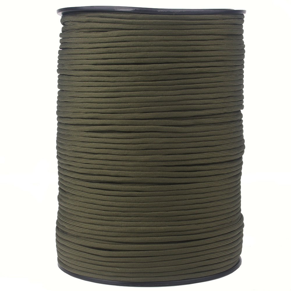 """Image 2 - 252 Colors 1000FT 550 Paracord / Parachute Cord Type III 7 Strand, 5/32"""" (4mm) Diameter Nylon Military Survival Cordage Wholesalparacord 550paracord 550 1000ftparacord 550 paracord -"""