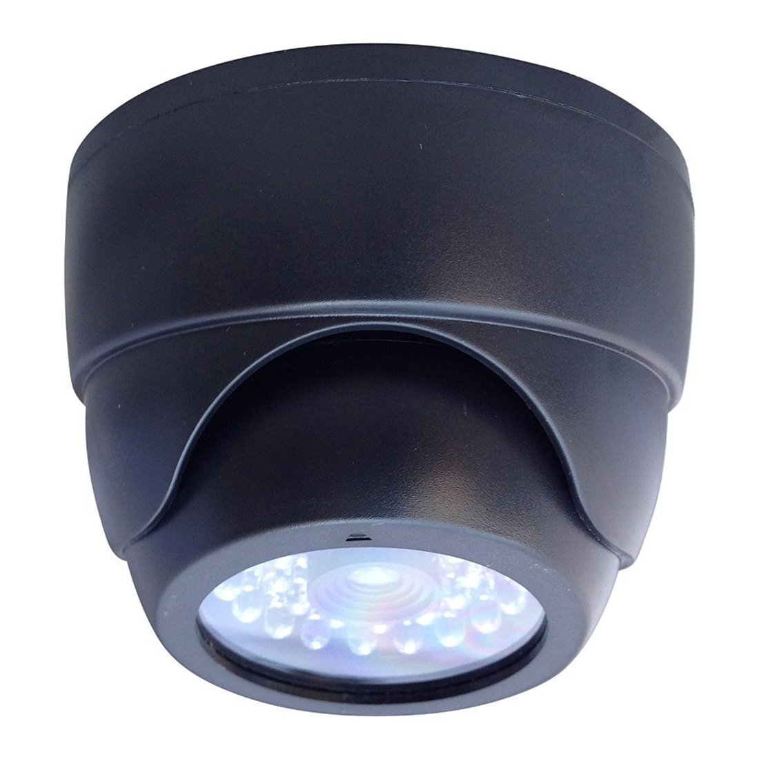 Wholesale 4 PCS Indoor Outdoor CCTV Fake Dummy Dome Security Camera Home Surveillance Camera with 30 Red Illuminating LED Light white black dummy camera fake dome cctv camera indoor outdoor red led flashing light for home security for christmas