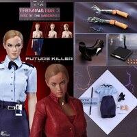 Горячее сердце FD002 1:6 Терминатор Для женщин робот TX злодей Bad Robot T X плюс большой набор в наличии