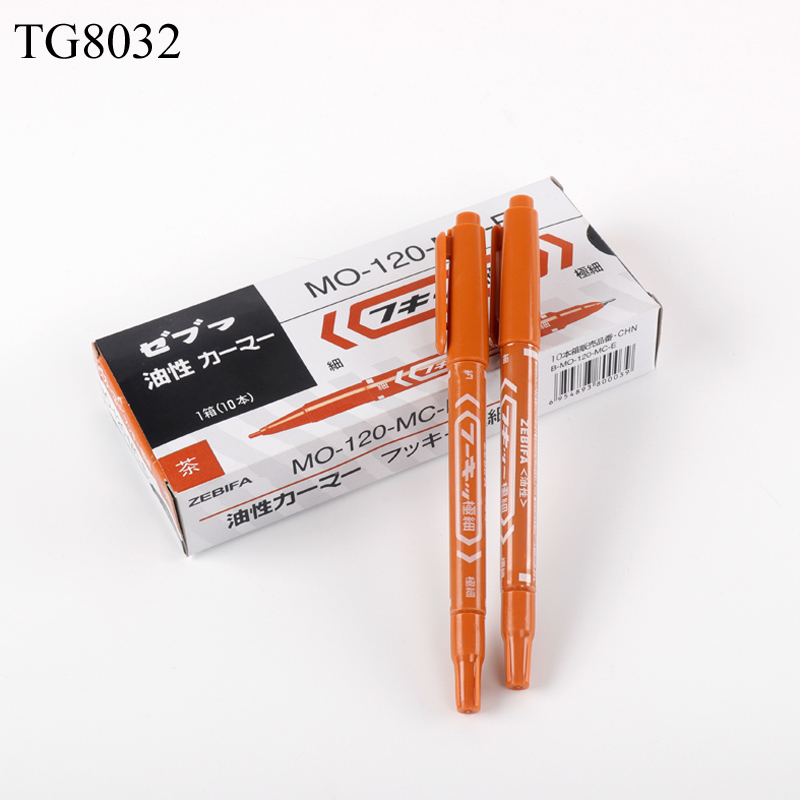10pcs lot Dual Tip Tattoo Surgical Marker Pen For Permanent Makeup Microblading Eyebrow Lip Skin Marker Tool Tattoo Accessories in Tattoo accesories from Beauty Health