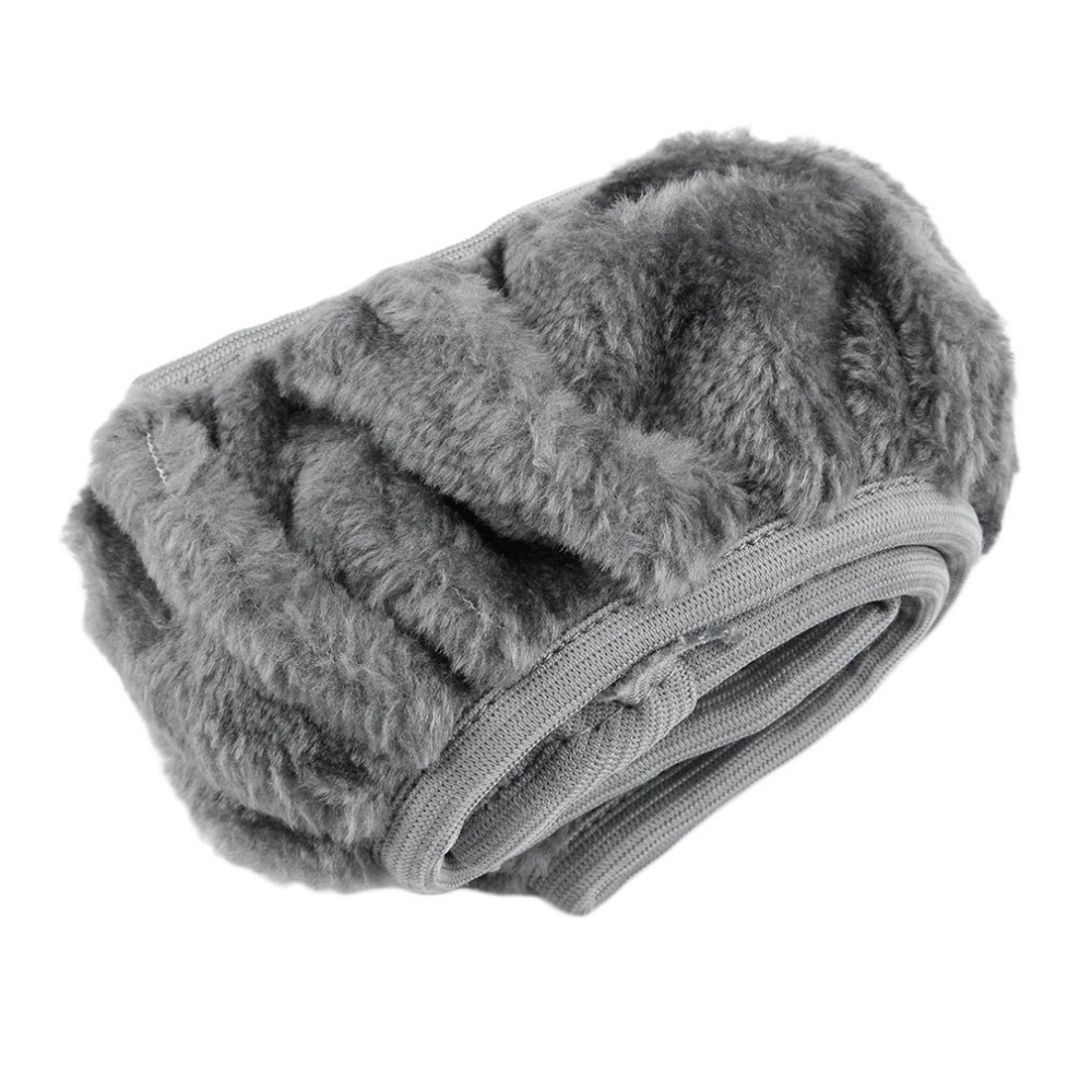 New 3 Colors Winter Steering Wheel Cover Artificial Wool Heated Steering Wheel Cover Plush Steering Wheel Cover Car-styling