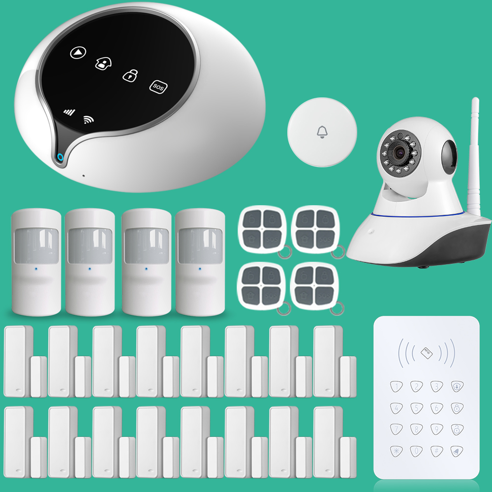 все цены на Wireless GSM Alarm System Dutch and English Spanish French Language Door Sensor Home Security Alarm System в интернете