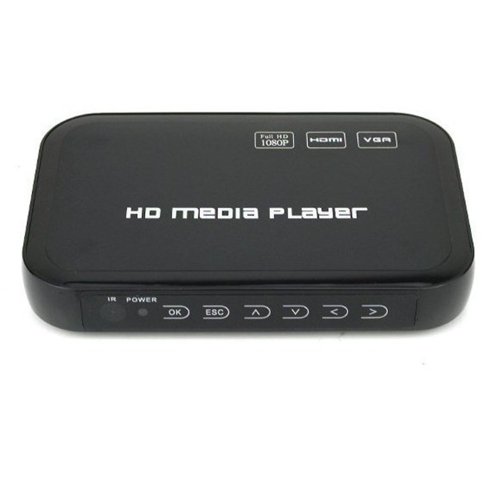 REDAMIGO Mini Full HD1080p H.264 MKV HDMI HDD Media Player Center USB OTG SD AV TV AVI RMVB RM HDDM3R