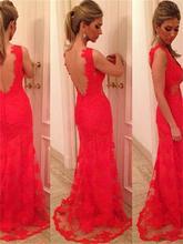 Neue Mode Enge Abendkleid SexyV V-ausschnitt Schatz-hüllen Roten Glänzenden Satin Nixe-abschlussball Gericht Zug