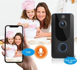 Image 5 - Видеодомофон GEEKAM V7, 1080P, Wi Fi, ИК сигнализация