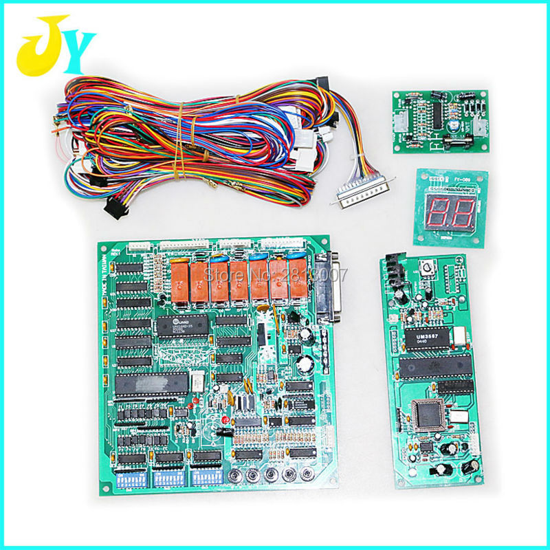 online get cheap custom wiring harness aliexpress com alibaba group diy custom crane machine kit parts good quality taiwan crane game pcb board wire harness conversion card display