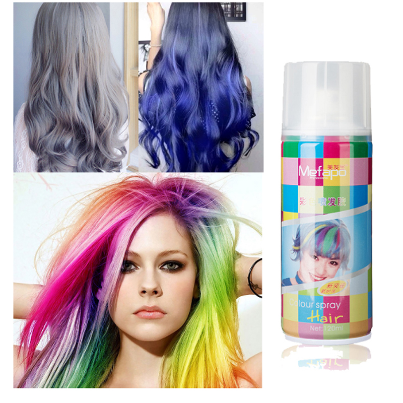 Buy Colored Hair Spray And Get Free Shipping On Aliexpress