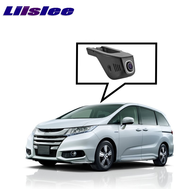 LiisLee Car Black Box WiFi DVR Dash Camera Driving Video Recorder For HONDA For Odyssey RL5 2011~2017