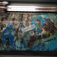 Iron Rusting Vinyl Wrap Film For Car Wrap Rust style Wrapping Colored Car Full Body Wrap Vinyl Sticker Bomb Air Free