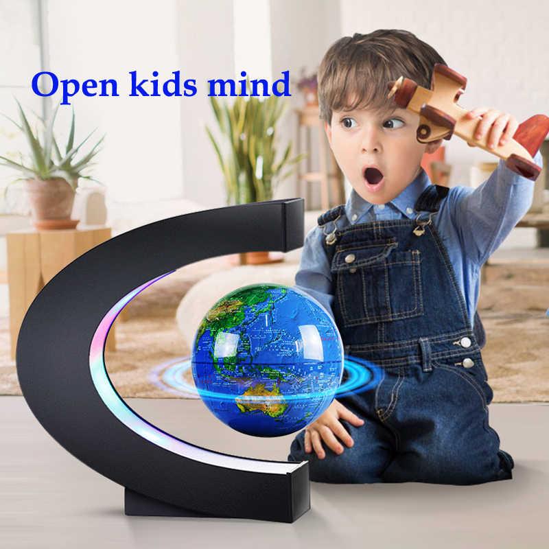 Новый подарок для детей друг родители Обучение Образование Детские игрушки СВЕТОДИОДНЫЙ Магнитный глобус tellurion домашний декор