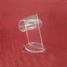 Wholesale Acrylic Jewelry Display Holder Clear Bangle Chain Bracelet Anklet Circle Holder Stand Rack