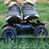 RC coche rock crawler 1:14 2,4 GHZ 4WD todoterreno escalada a prueba de agua control remoto coche de juguete electrónico rc Coche