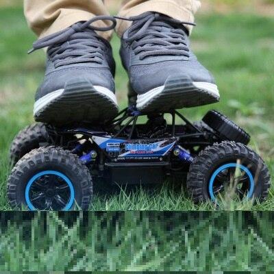 Carro RC rock crawler 1:14 2.4GHZ 4WD Off-road Carro de controle Remoto À Prova D' Água de Escalada Brinquedo Eletrônico rc carro