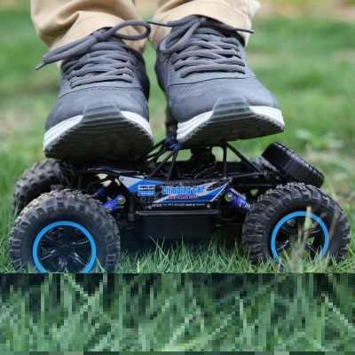 Carro rc rock crawler 1:14 2.4 ghz 4wd fora de estrada escalada à prova de água carro de controle remoto brinquedo eletrônico carro rc