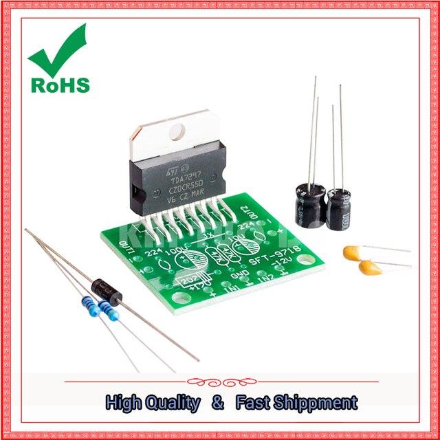 tda7297 power amplifier board dc 12v 2 0 dual channel 15w 15wtda7297 power amplifier board dc 12v 2 0 dual channel 15w 15w electronic module diy kit