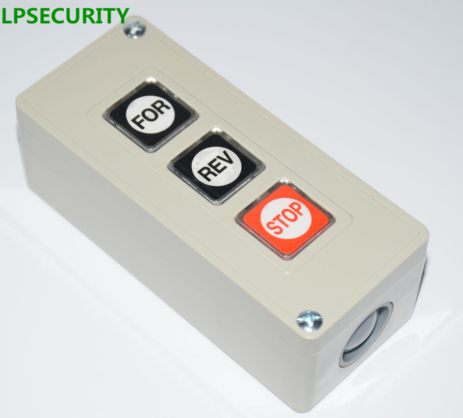 LPSECURITY MANUAL Push Button Switch For Barrier Gates And Gate Openers/Commercial  Garage Door Opener Three Button Station In Access Control Accessories ...