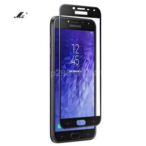 Image 5 - 2pcs עבור Samsung J4 2018 מגן זכוכית לסמסונג גלקסי J4 2018 j 4 4j J400F J400 מסך מגן סרט J42018 J4Plus גלאס