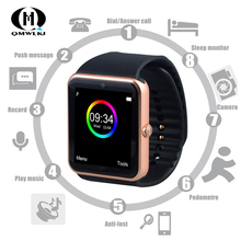 GT08 Smart Watch Sport Pedometer With SIM TF Card Camera  Information Push Bluetooth call adult For iPhone Android