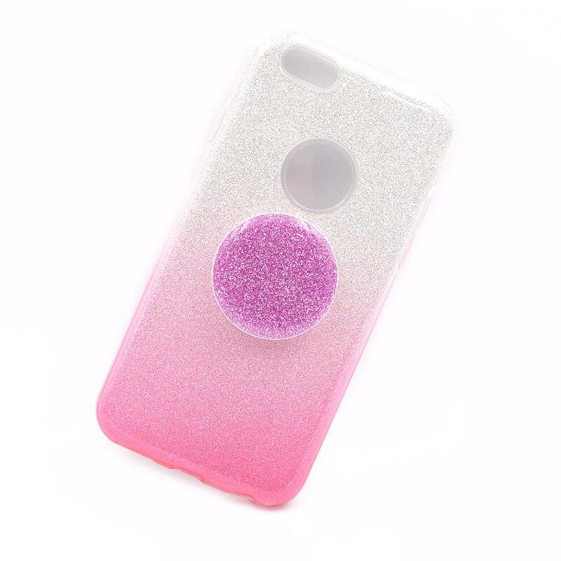 Best buy ) }}Glitter Holder Phone Case For iPhone 6