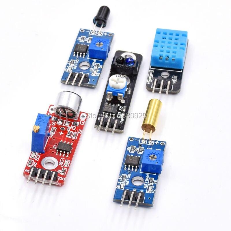 16 pz/lotto Raspberry Pi 3 & Raspberry Pi Modello B il modulo sensore 2 pacchetto di 16 tipi di sensore